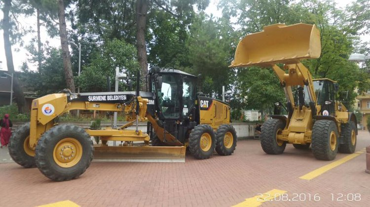Makine Parkına Yeni araçlar