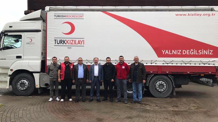 CİLVEGÖZ'E YARDIM